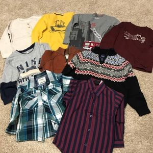Winter clothing lot size 4t boy toddler